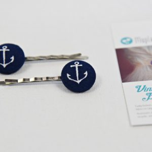 navy blue with anchor