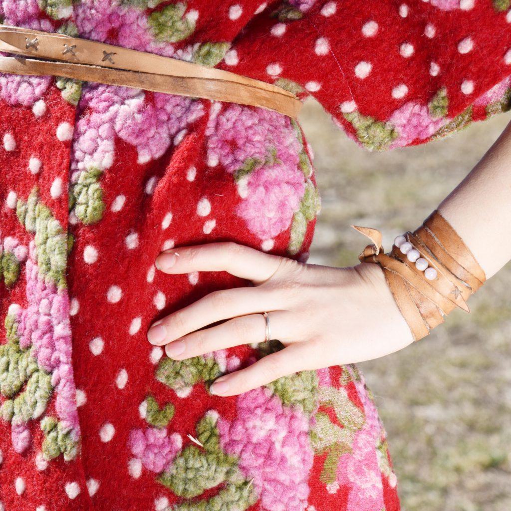 fehu belt and maple and oak poncho