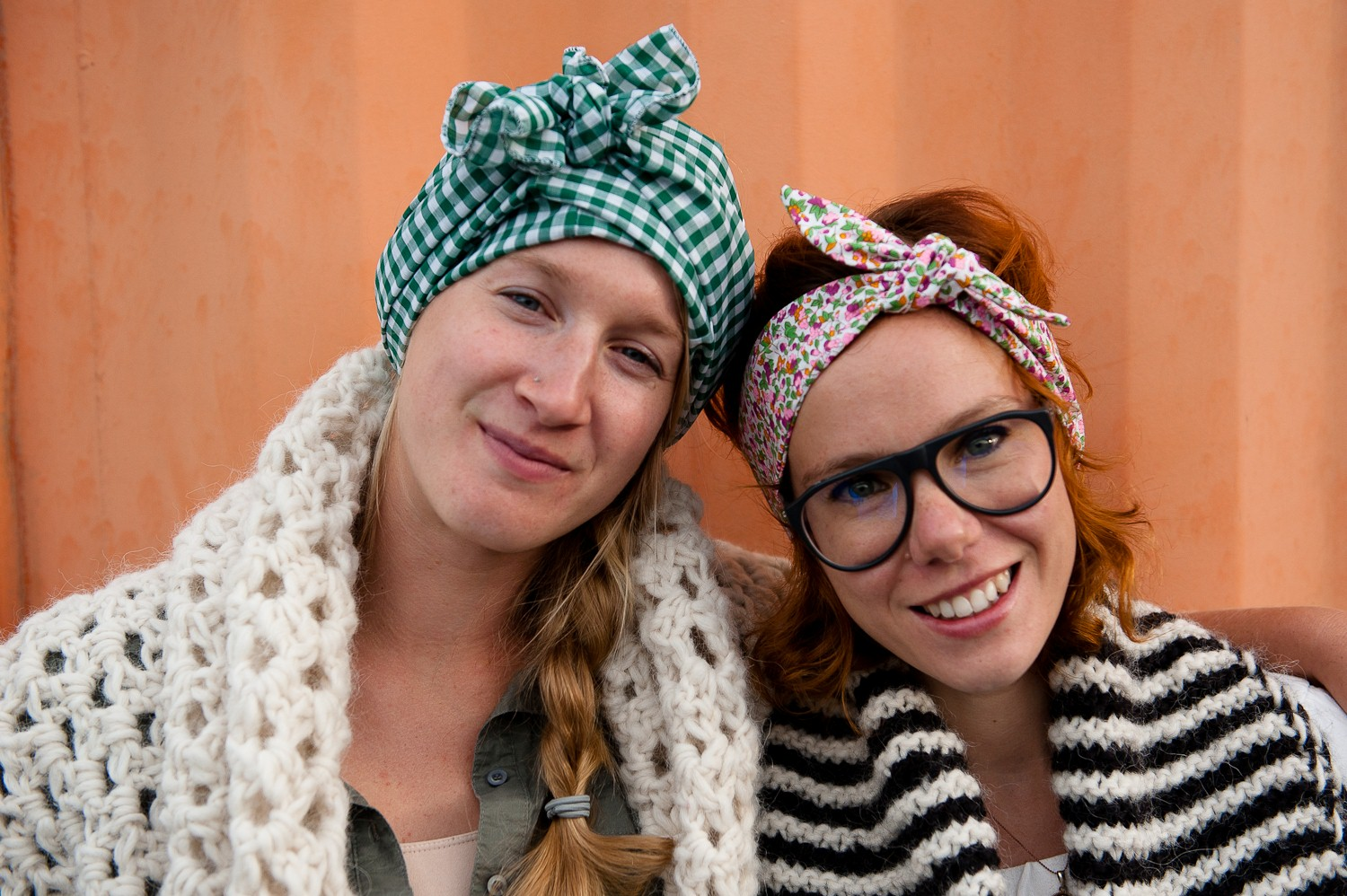 warm and cozy - headbands and scarves 10