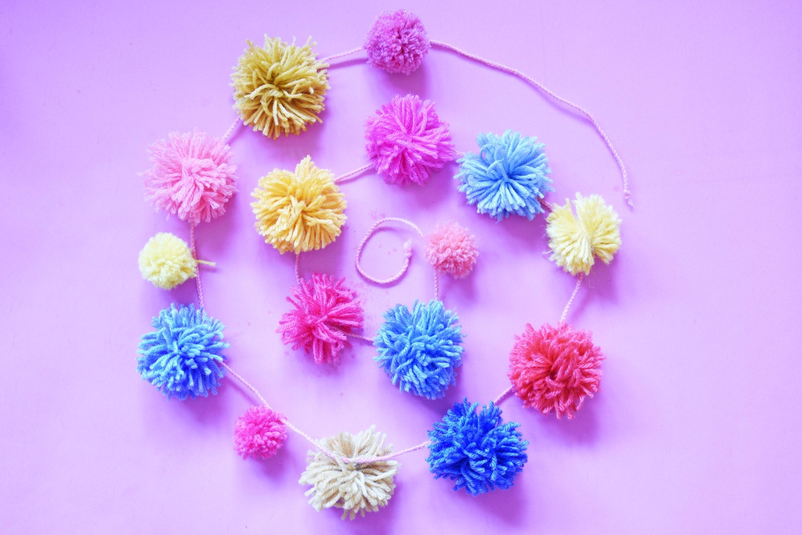 PomPom Garland - Maple And Oak