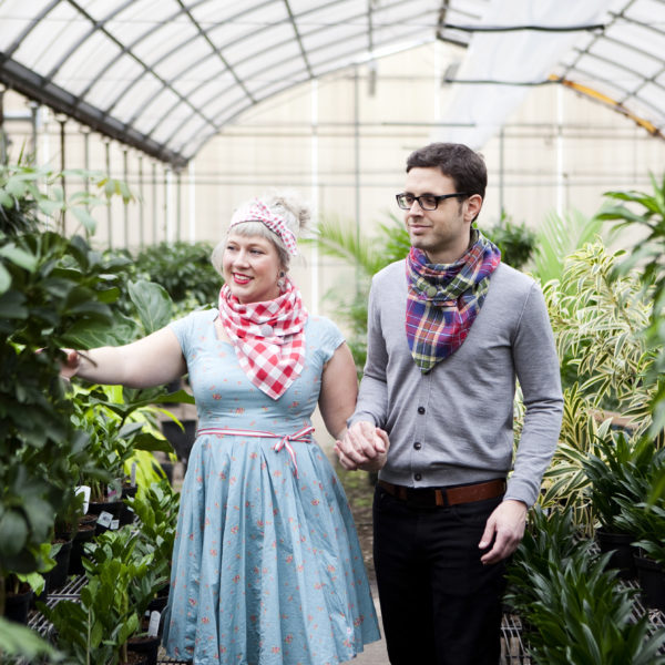 Maple And Oak Designs, Spring 2017, Triangle Scarves