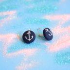 button earrings, anchors 3