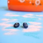 button earrings, anchors 2