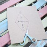 how to make vintage fabric bunting garland 2