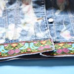 Maple And Oak - funky embroidered jean jacket 4