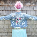 Maple And Oak - funky embroidered jean jacket 7