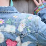 Maple And Oak - funky embroidered jean jacket 8