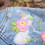 Maple And Oak - funky embroidered jean jacket 9